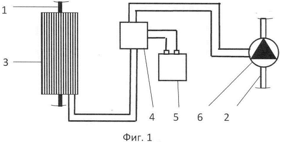 Автономный циркуляционный термоэлектронасос для системы отопления