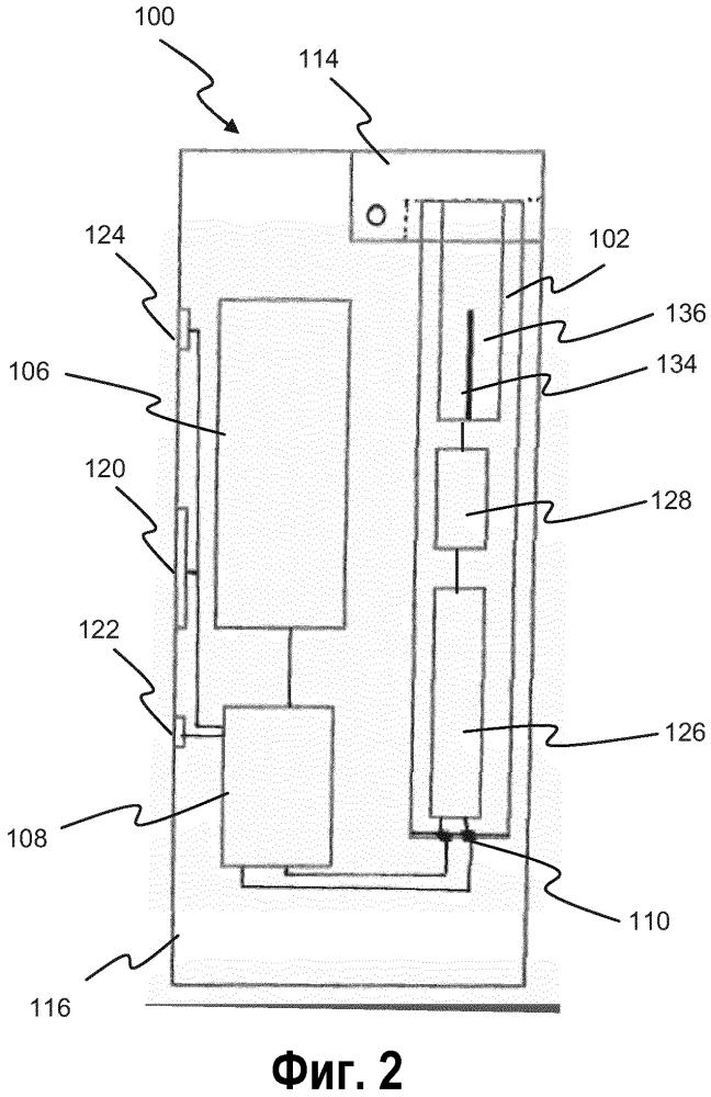 Система подачи питания для переносного генерирующего аэрозоль устройства