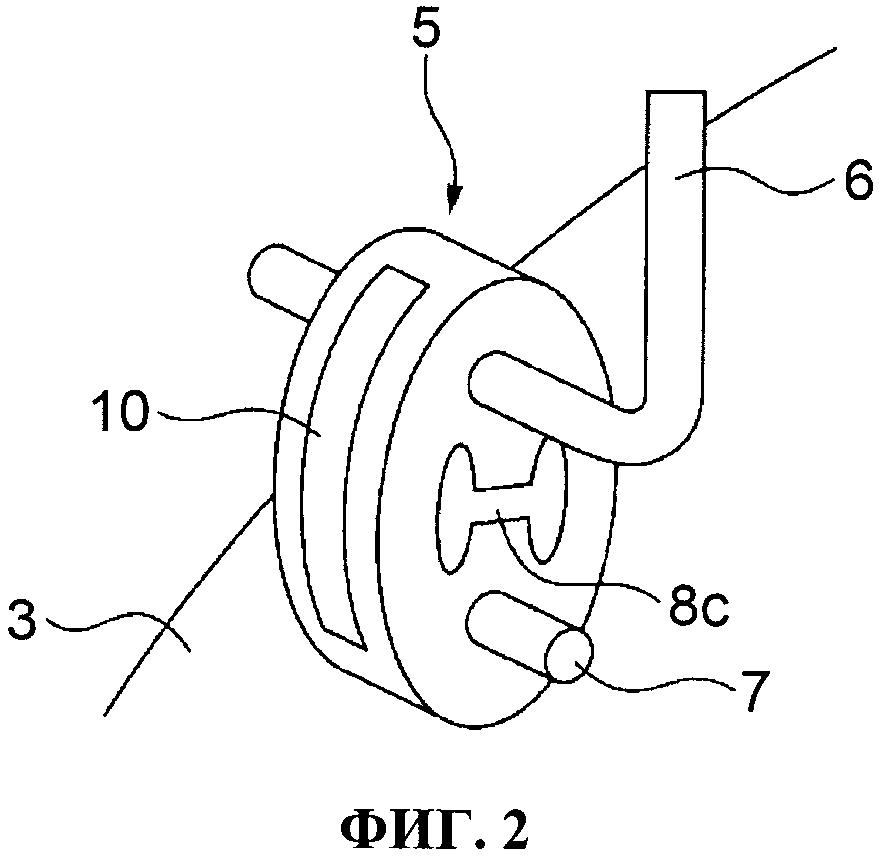 Выхлопная система автомобильного двигателя