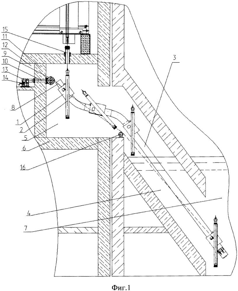 Наклонный подъемник ядерного реактора