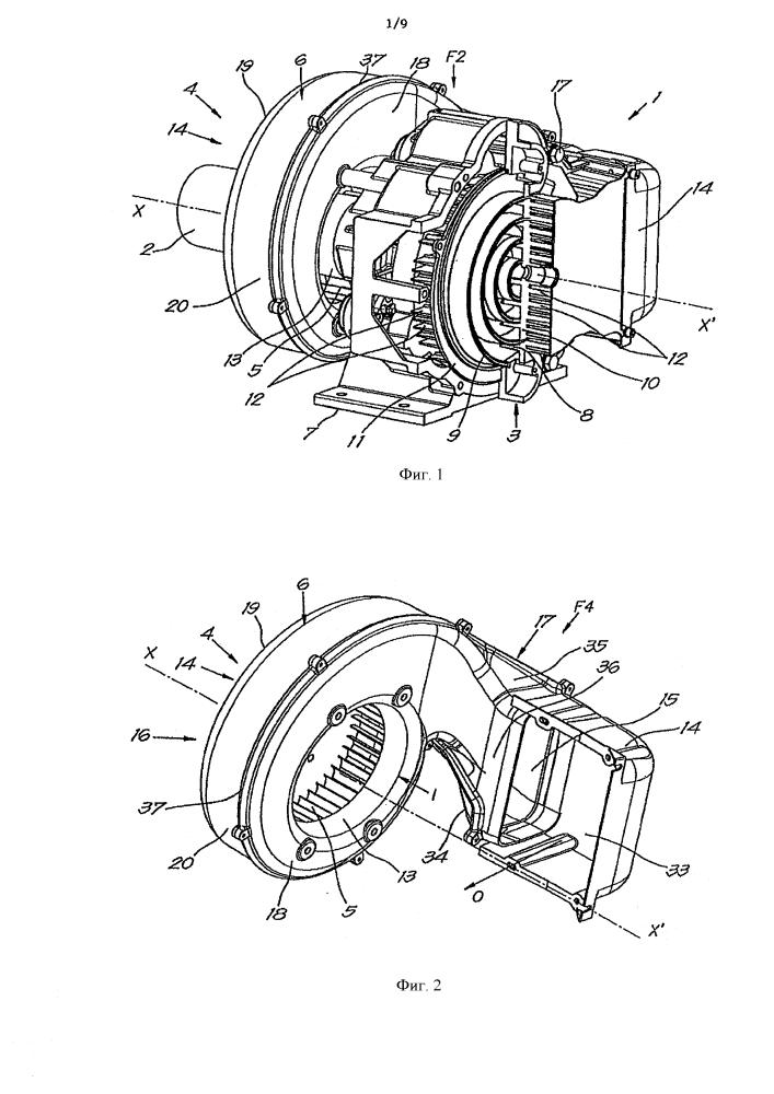 Кожух для вентилятора спирального компрессора