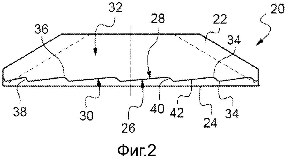 Металлическая стопорная шайба с шероховатой поверхностью