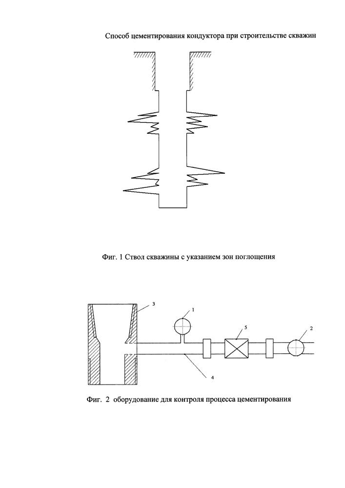 Способ цементирования кондуктора при строительстве скважин