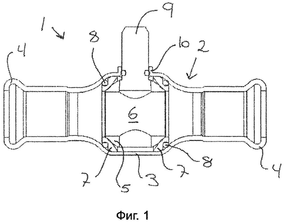 Корпус клапана с кольцевой направляющей шпинделя