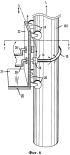 Устройство для передачи движения посредством противовращения противоположных концов изогнутого гибкого элемента