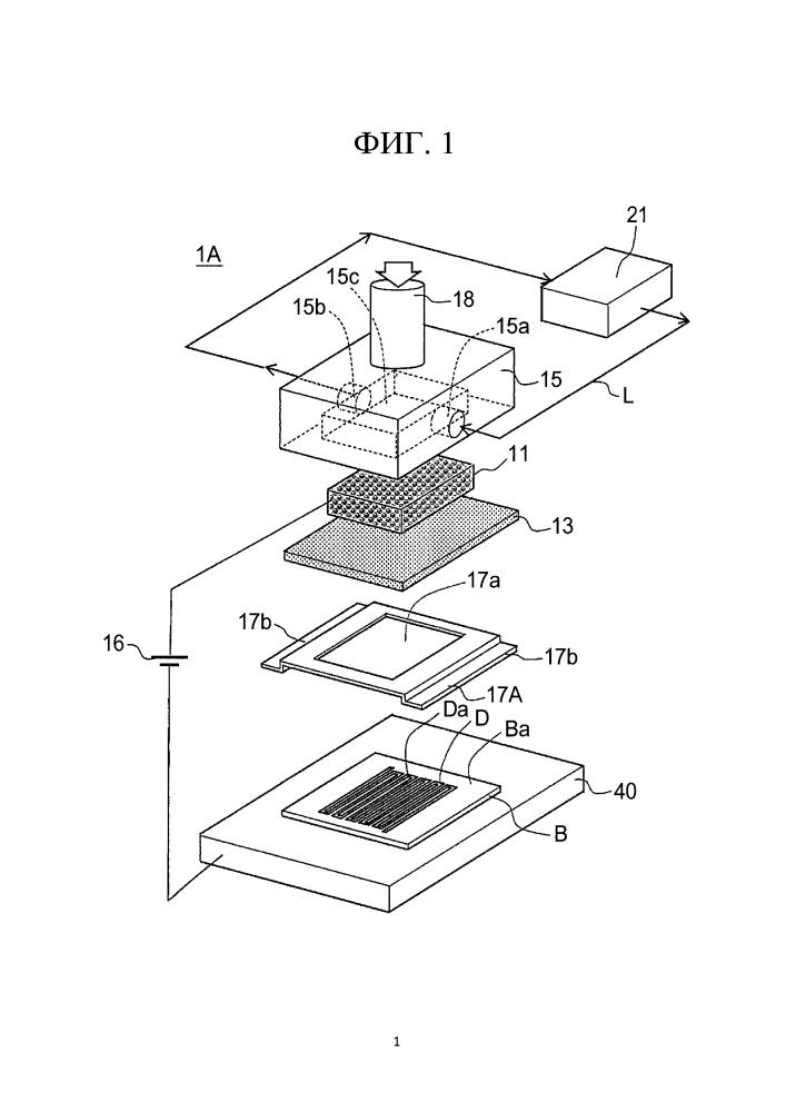 Устройство для нанесения металлической плёнки и способ нанесения металлической плёнки