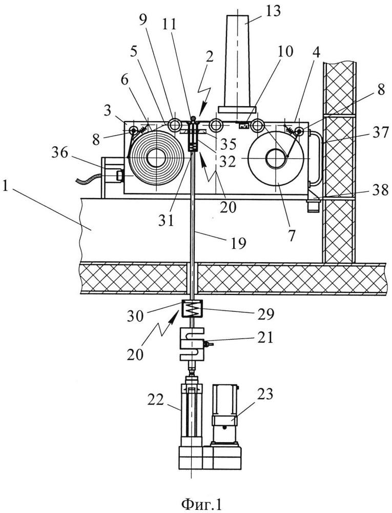 Способ автоматического контроля снимаемой альфа-загрязненности твэлов и устройство для его осуществления