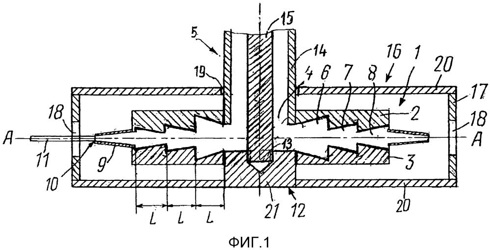 Радиочастотный сумматор мощности, функционирующий как фильтр высших гармоник