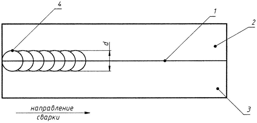 Способ электронно-лучевой сварки разнородных металлов