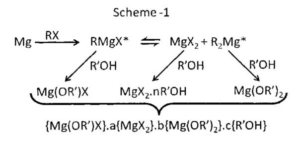 Металлоорганическое соединение в твердой форме, способ его получения и применение