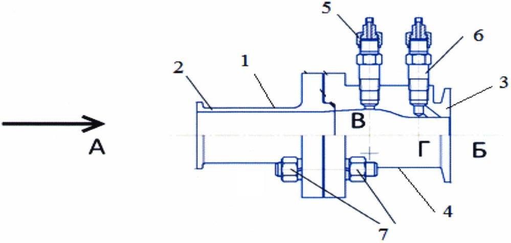 Устройство для измерения потока жидкости