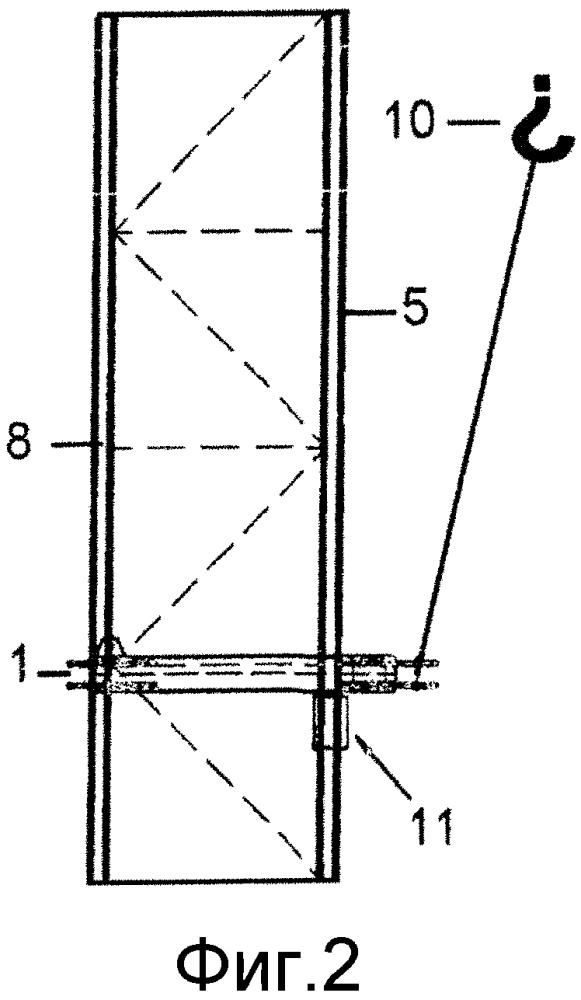 Ограждающая рама, способ монтажа ограждающей рамы, применение ограждающей рамы для соединения башенного поворотного крана с объектом