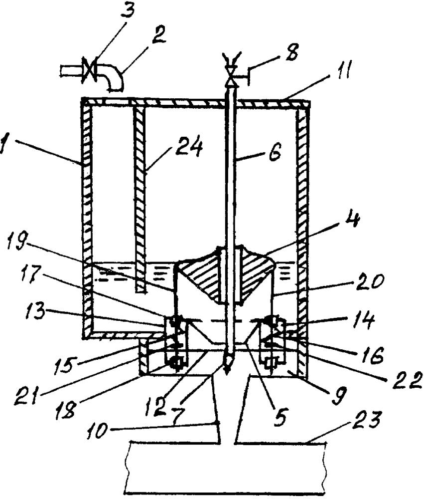 Устройство для автоматической выдачи жидкости