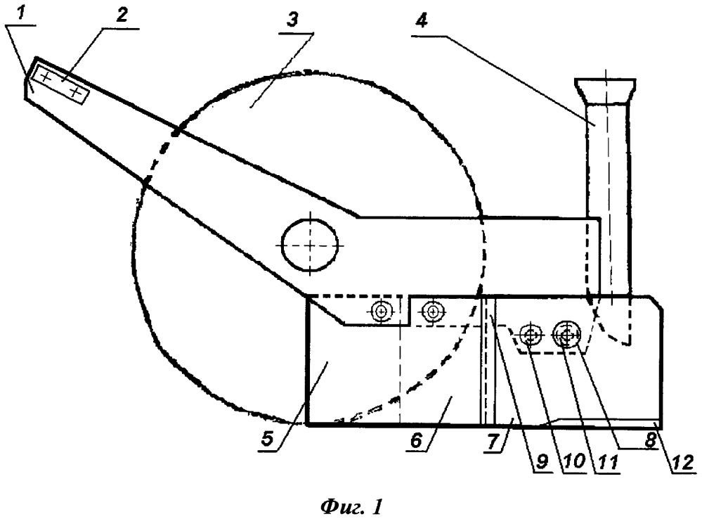 Однодисково-анкерный сошник