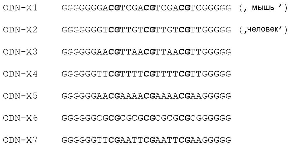 Иммуностимулирующие олигодезоксинуклеотиды