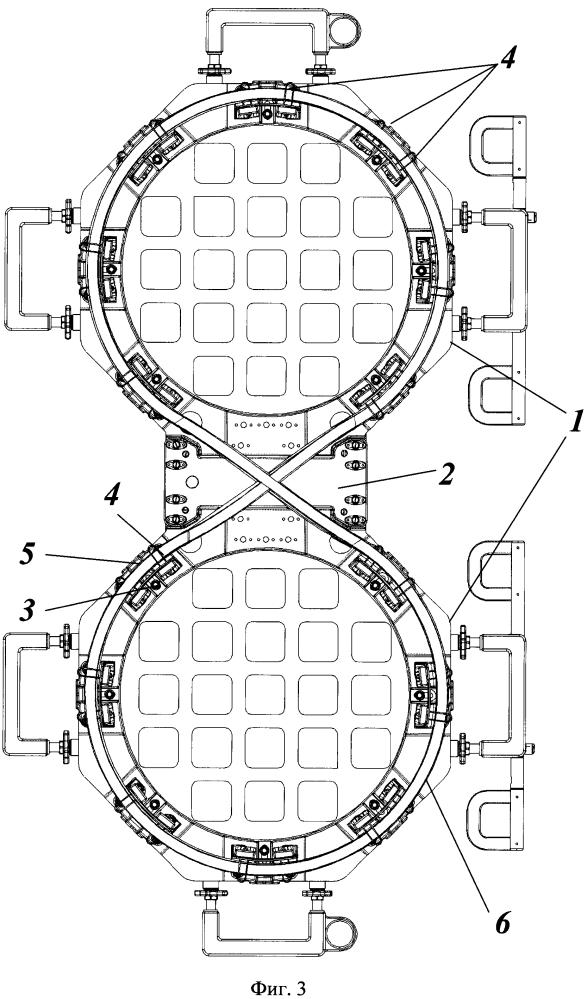 Устройство укладки гибкого протяженного по длине элемента в космических условиях и способ его эксплуатации