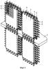 Стеновой модуль для сооружения конструкции, а также соответствующая конструкция