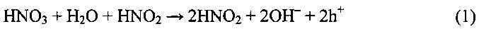 Состав селективного травителя для химических процессов утонения кремниевых пластин