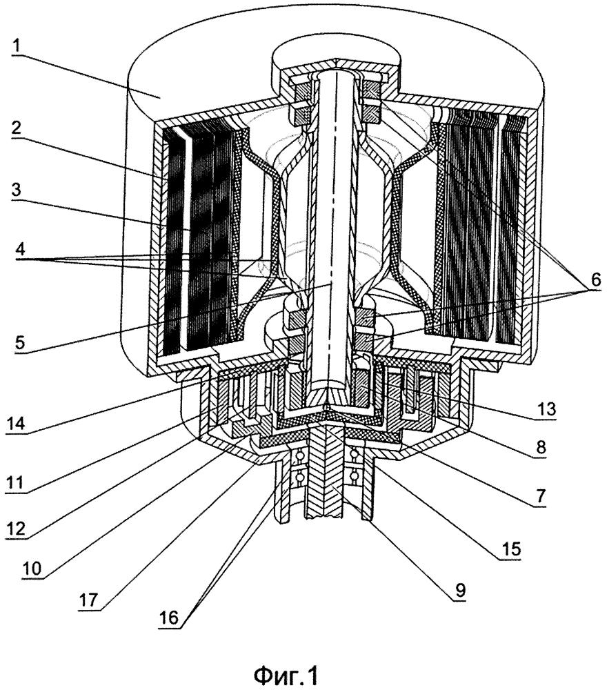 Механический накопитель энергии с магнитным редуктором