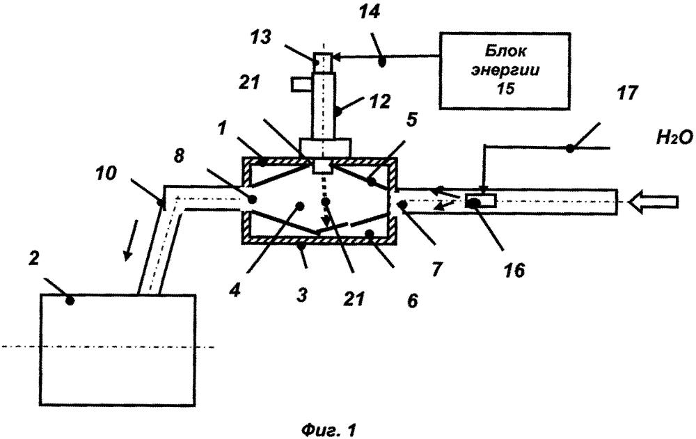 Система активации топливного газа и активатор топлива