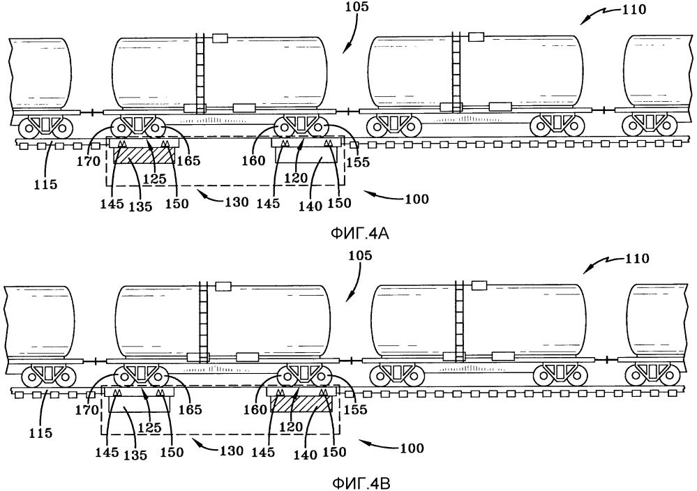 Система и способ для взвешивания сцепленных находящихся в движении железнодорожных вагонов