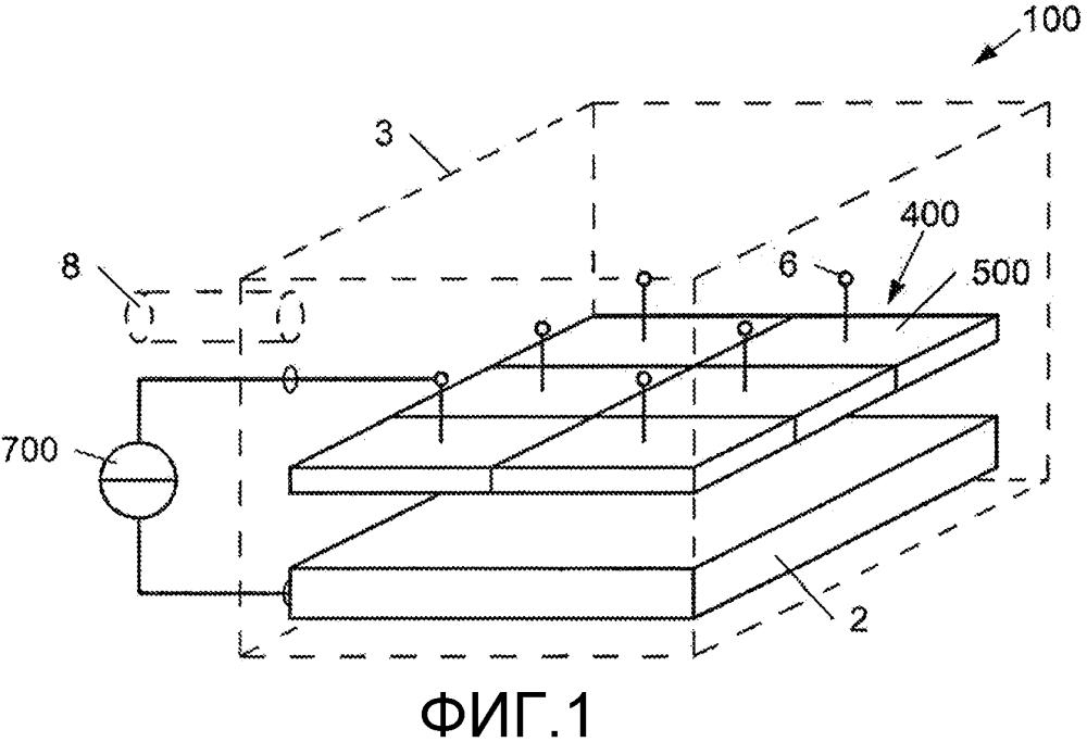 Устройство и способ для плазменного нанесения покрытия на подложку, в частности, на прессовальный лист