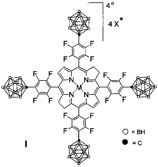 Борированные производные фторированных бактериохлоринов и их металлокомплексов, обладающие противоопухолевой активностью