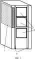 Вертикальное устройство для укладки коммутационных шнуров в телекоммуникационной стойке (шкафу)