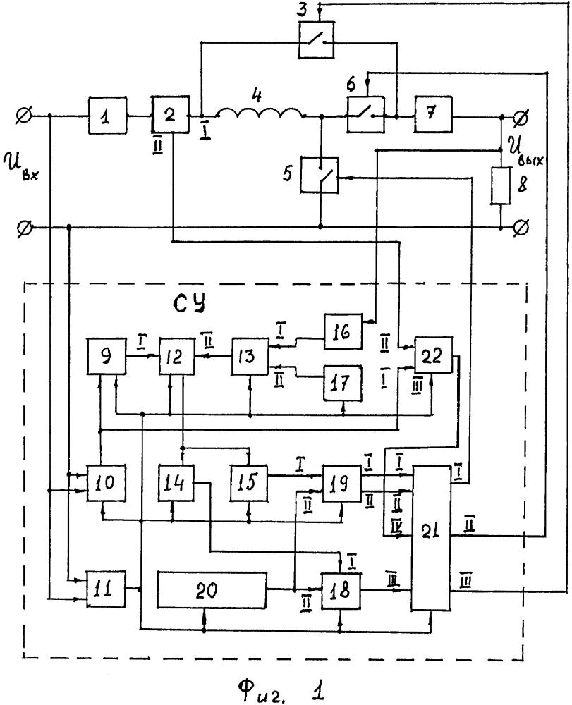Стабилизатор напряжения переменного тока