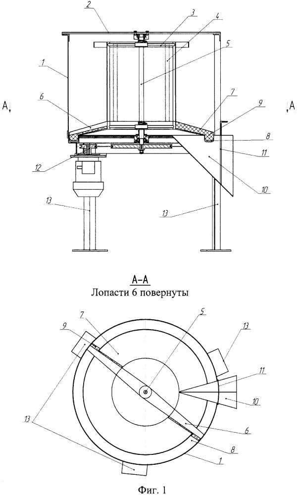 Комбинированный агрегат для откачки мёда, скарификации перговых сотов и выделения воскоперговой массы из сота