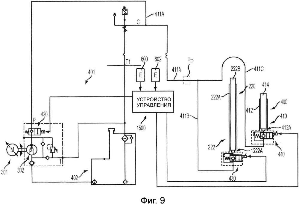 Погрузочно-разгрузочное транспортное средство, рассчитывающее скорость подвижного узла по скорости двигателя механизма подъема