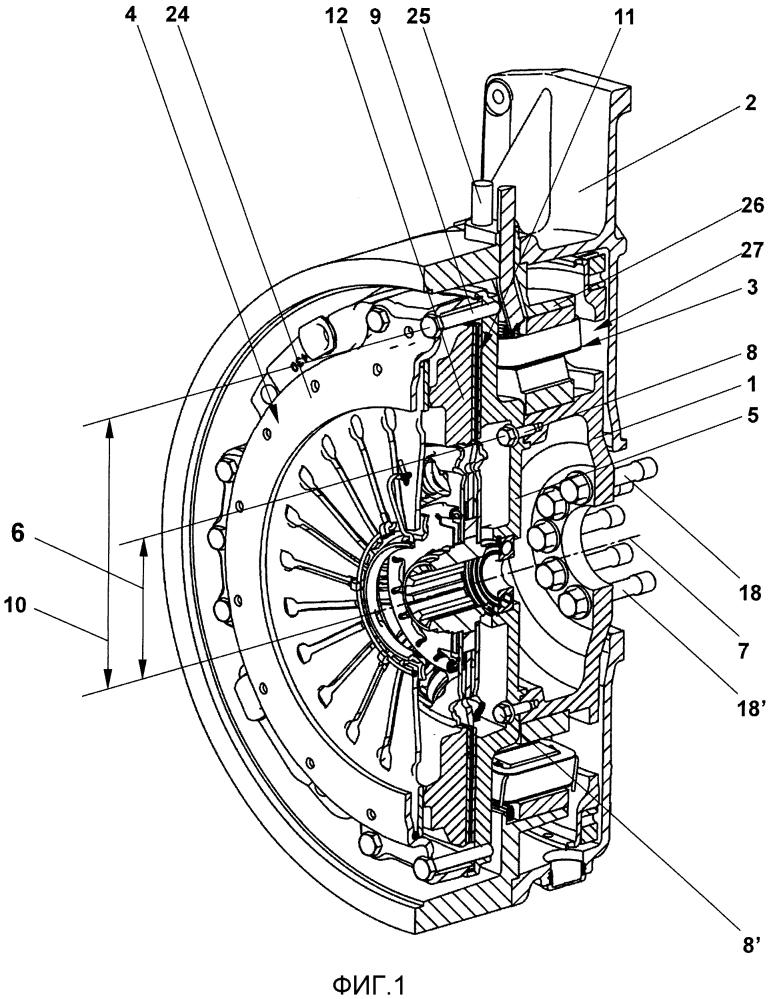 Система, состоящая из двигателя внутреннего сгорания