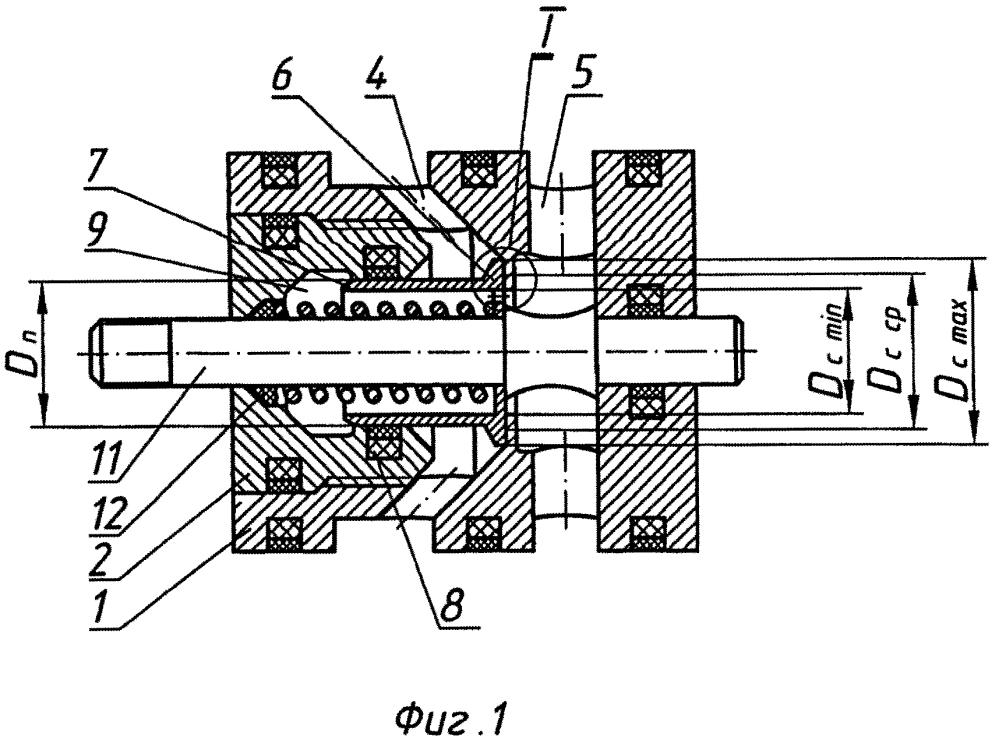 Клапанный гидрораспределитель высокого давления