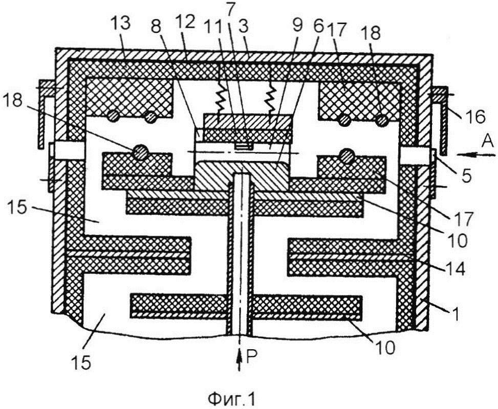 Устройство для пневмопереплетения комплексных нитей