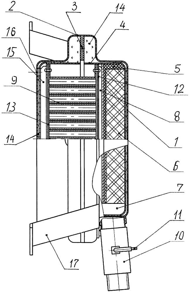 Автоматический генератор огнетушащего аэрозоля