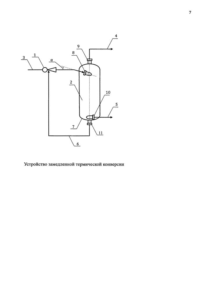 Устройство замедленной термической конверсии
