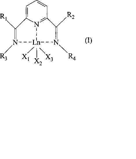 Бис-имин пиридиновый комплекс лантанидов, каталитическая система, содержащая указанный бис-имин пиридиновый комплекс, и способ (со) полимеризации конъюгированных диенов