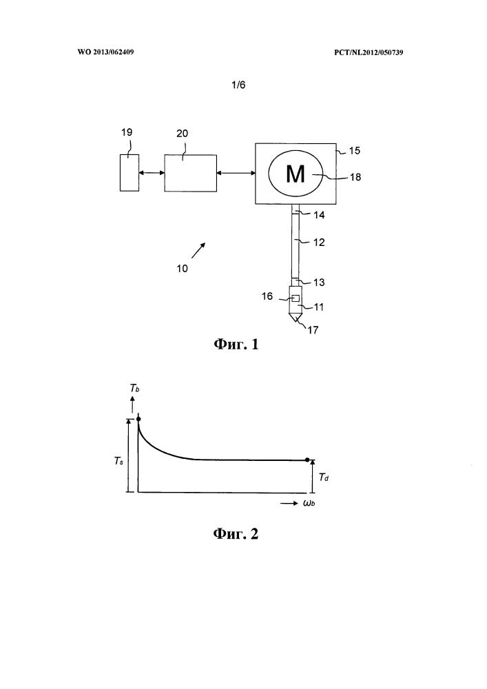 Способ уменьшения осцилляций прерывистого скольжения в скважинном оборудовании и устройство и электронный контроллер для выполнения этого способа