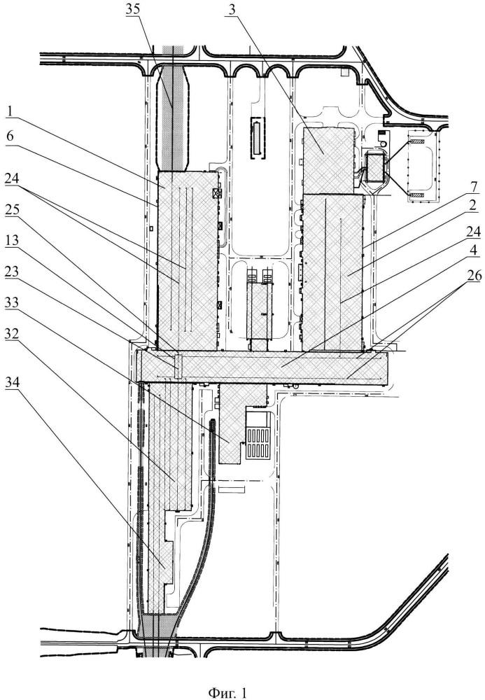 Технический комплекс космодрома