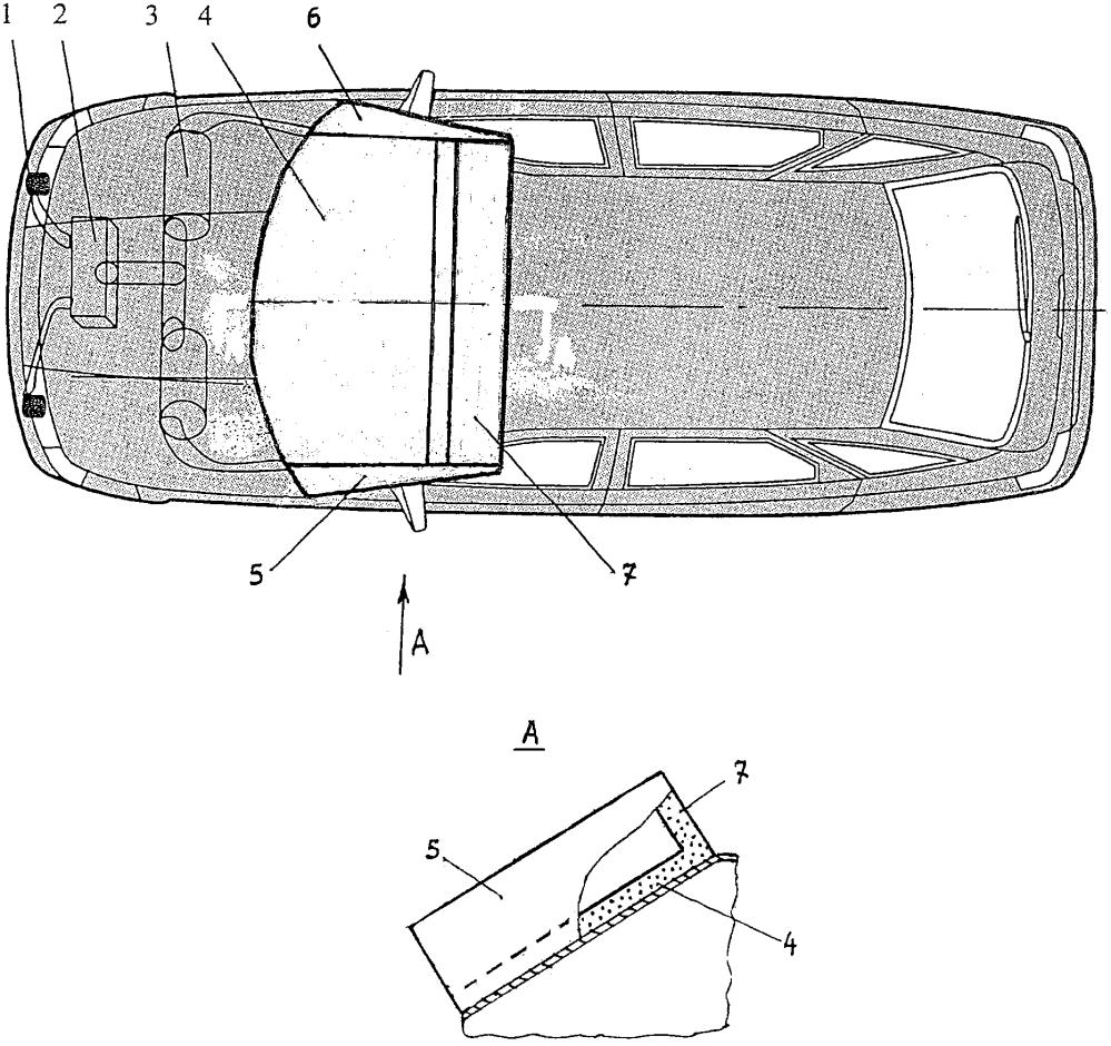 Устройство для обеспечения безопасности автотранспортного средства