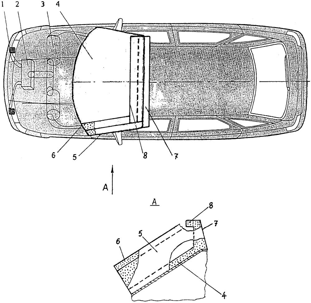 Система для повышения безопасности автотранспортного средства