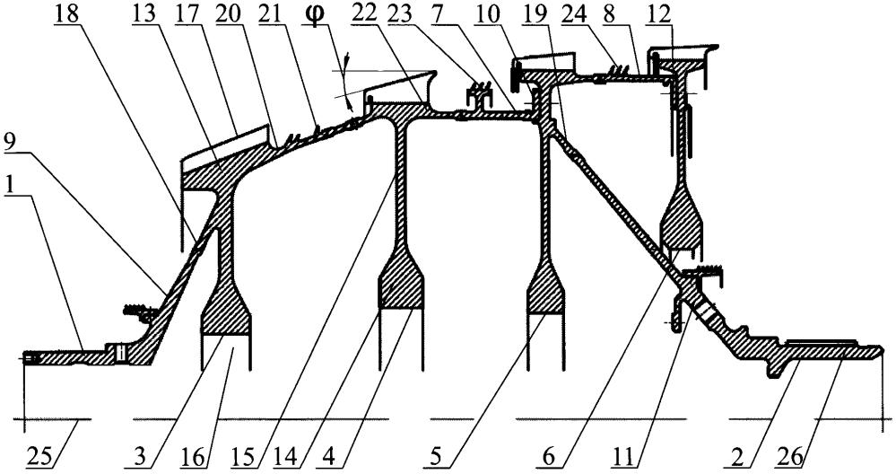 Способ изготовления вала ротора компрессора низкого давления газотурбинного двигателя и вал ротора компрессора низкого давления, изготовленный этим способом