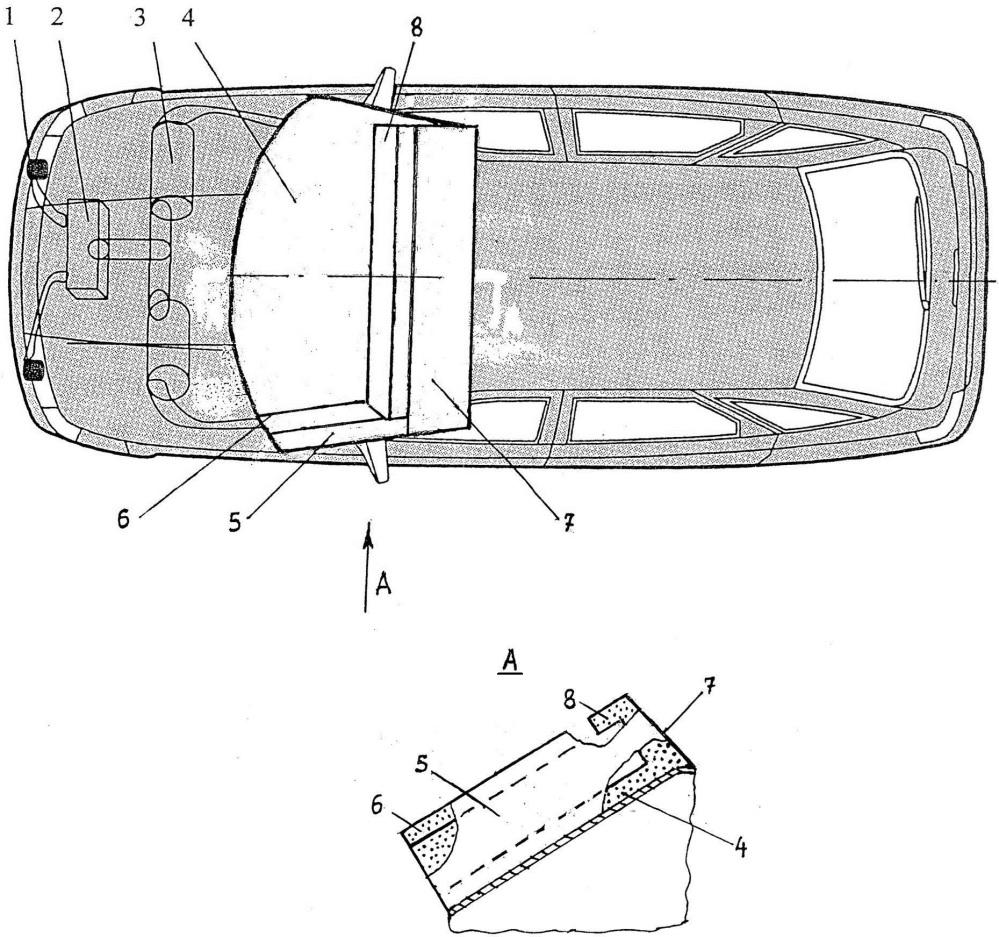 Устройство для повышения безопасности автомобиля