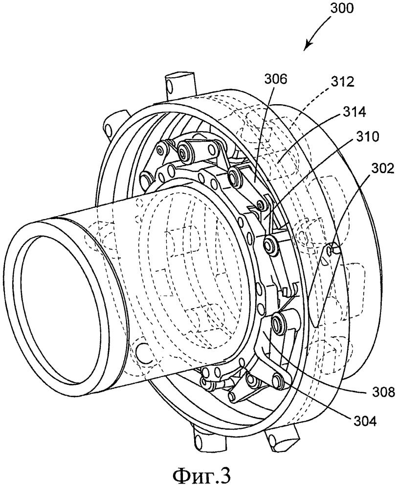 Входной направляющий лопаточный приводной аппарат, турбомашина и способ изготовления входного направляющего лопаточного приводного аппарата турбомашины