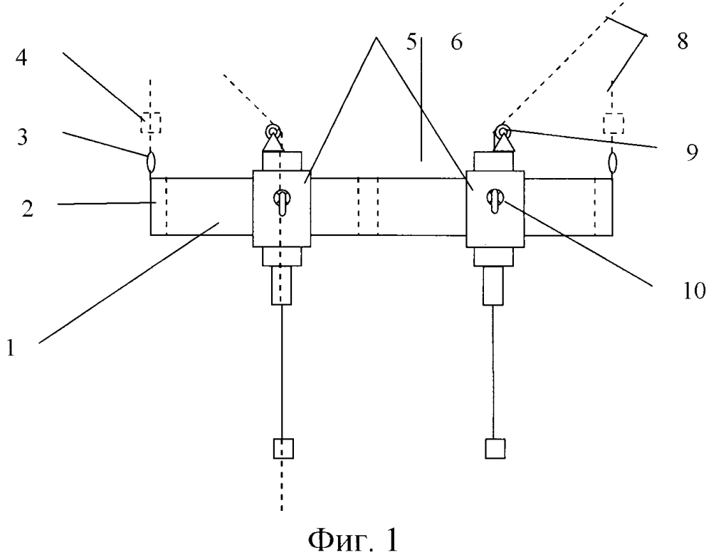 Траверса спуско-подъемного устройства