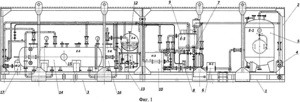 Установка подготовки скважинной продукции