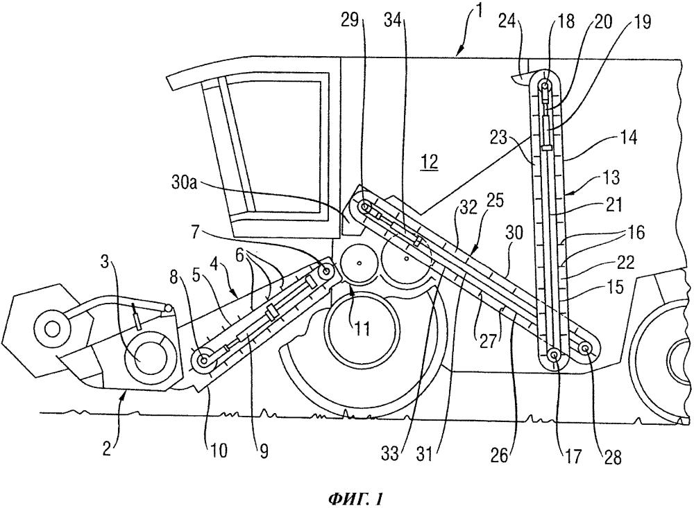 Устройство для натяжения тягового средства транспортирующего устройства