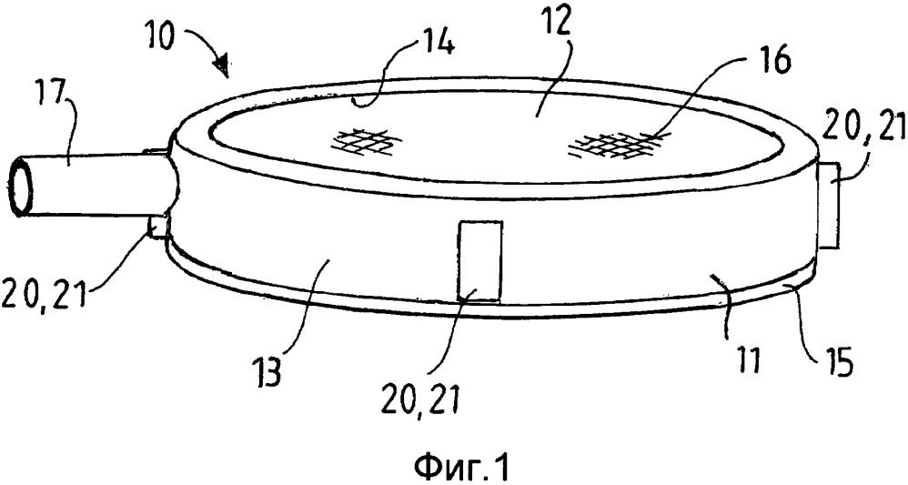 Фильтрующее устройство для сосуда для жидкости, в частности водного раствора мочевины