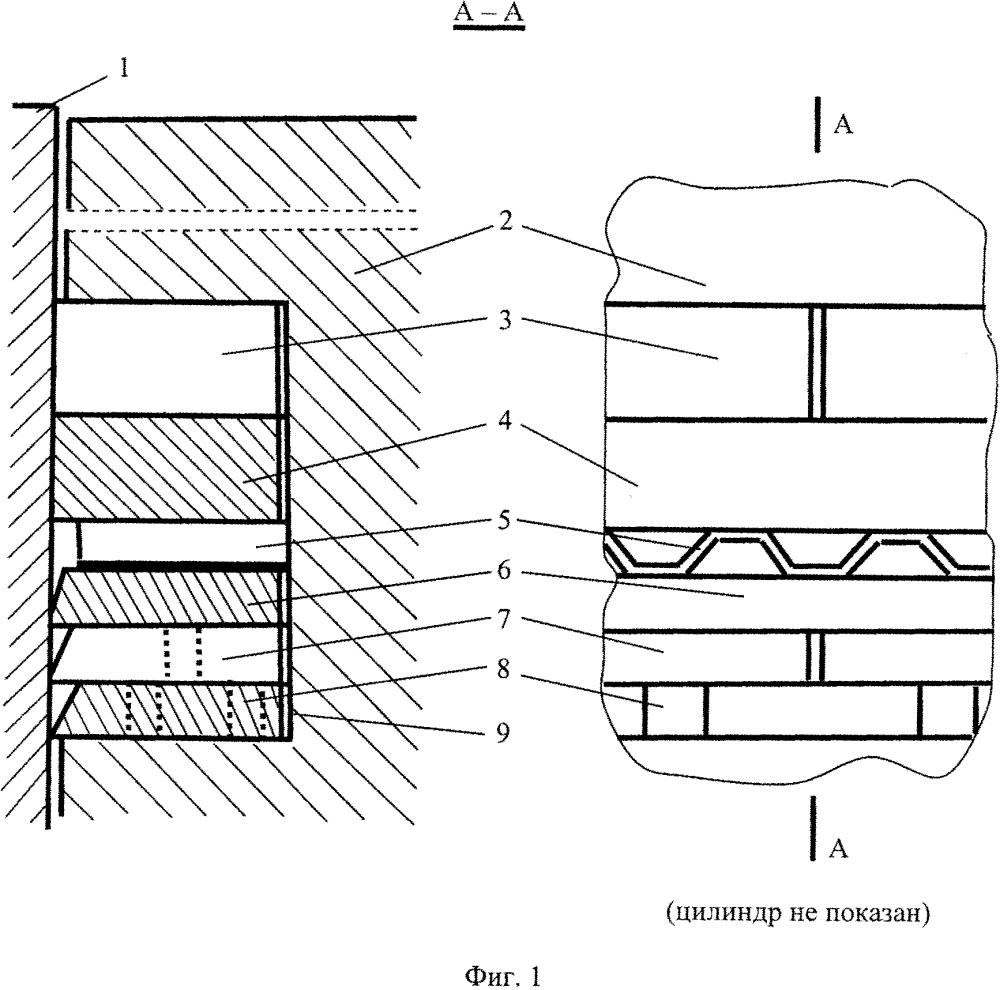 Поршневое устройство двигателя внутреннего сгорания (варианты)