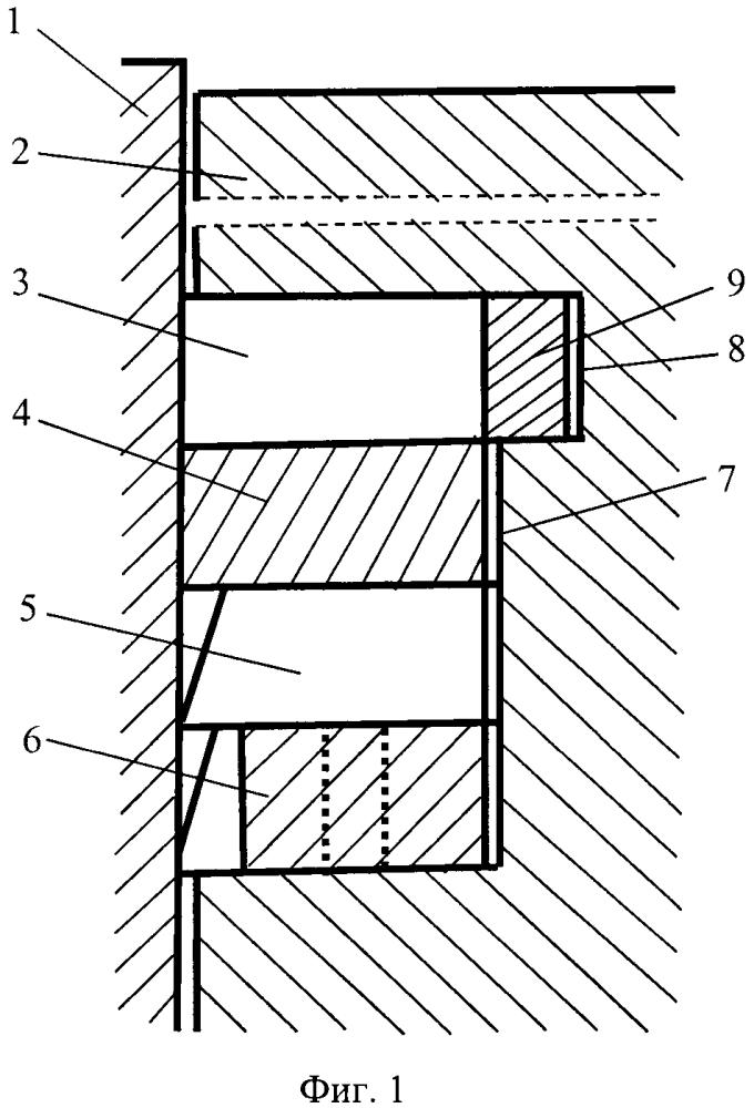Поршневое устройство двигателя внутреннего сгорания с экспандером (варианты)